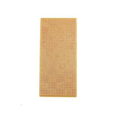6x13 cm Delikli Pertinaks Tek Yüzlü