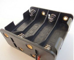 8-AA Battery Housing (Double Sided) - Thumbnail