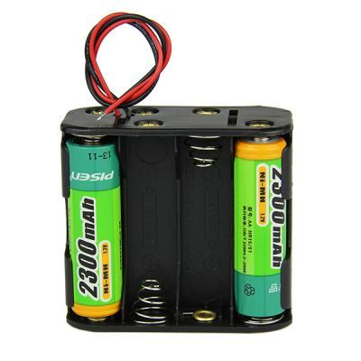 8-AA Battery Housing (Double Sided)