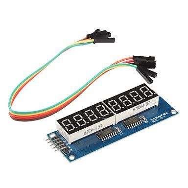 8 Karakter 7 Segment Seri Display