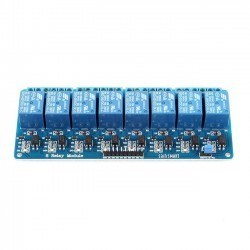 Robotistan - 8 Way 12V Relay Module