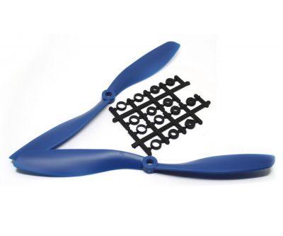 8045 Mavi Plastik CW/CCW Pervane Seti