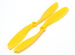 China - 8045 Yellow Plastic CW/CCW Propeller Set