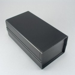 Altınkaya - 85 x 155 x 60 mm Proje Kutusu - HH-8282 (Siyah)