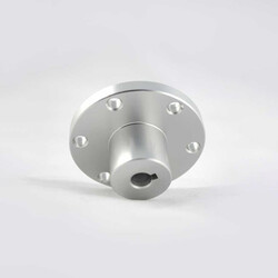 Nexus Robot - 8 mm Kama Boşluklu Alüminyum Göbek - Universal, 18024