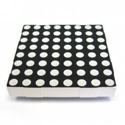 China - 8x8 Common Cathode Dot Matrix - KPM-2088 ASRND