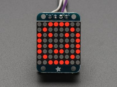 8x8 0.8 Inch Mini I2C Bağlantılı Matris (Kırmızı)