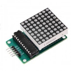 8x8 Red Dot Matrix Board - Thumbnail