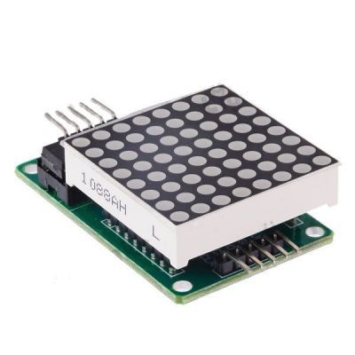 8x8 Red Dot Matrix Board