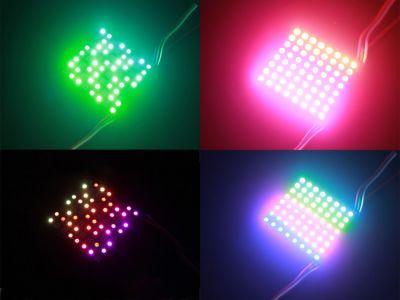 8x8 RGB Led Matris WS2812B 5 V