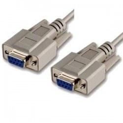 9 Pin Dişi-Dişi Seri Port Kablosu - 1.5 Metre - Thumbnail