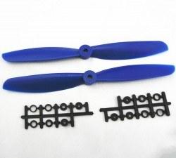 China - 9045 Blue Plastic CW/CCW Propeller Set