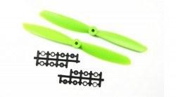 China - 9045 Green Plastic CW/CCW Propeller Set