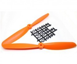 China - 9045 Orange Plastic CW/CCW Propeller Set