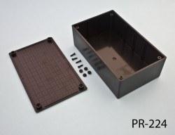 96 x 158 x 53 mm Proje Kutusu (Siyah) - Thumbnail