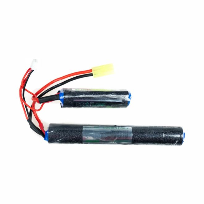 Full Power - 9,6V Airsoft LiFe Batarya 1500mAh 15C - (18x65 + 18x130)