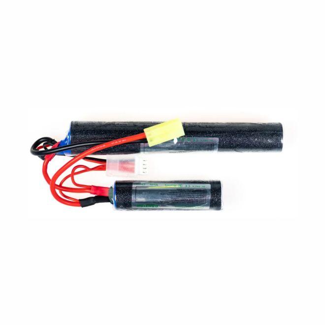 9,6V Airsoft LiFe Batarya 1500mAh 15C - (18x65 + 18x130)