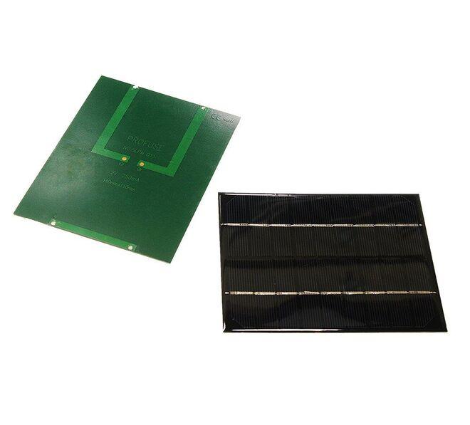 9V 250mA Solar Panel - Güneş Pili