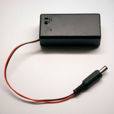 9V Battery Housing(Covered and Switched)