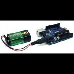 9 V Pil Barrel Dönüştürücü Kablo - 9 V to DC Barrel Adapter - Thumbnail