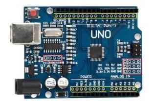 CH340 UNO ekstra pinler