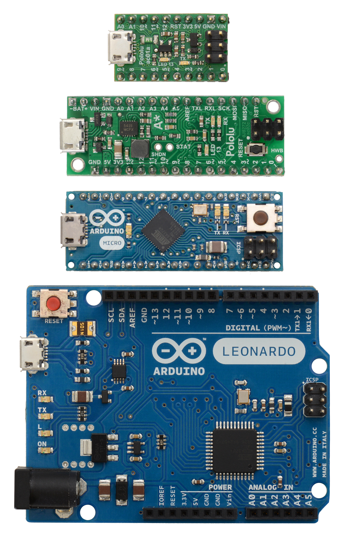 A-Star vs Arduino
