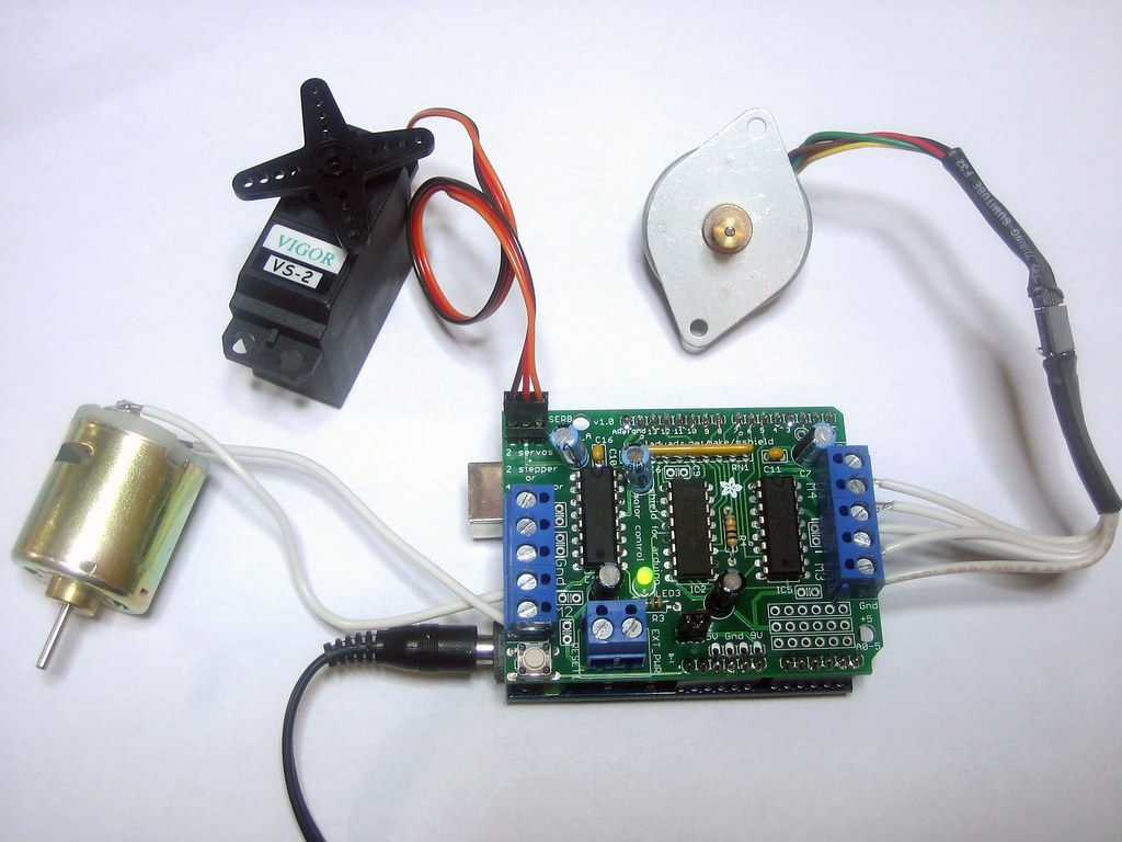 Buy Arduino Motor Driver Shield with cheap price
