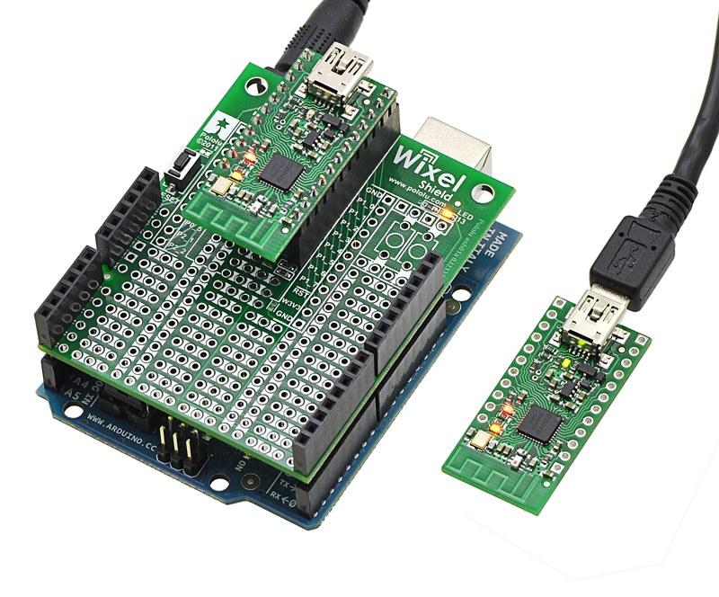 Pololu Wixel Arduino Kablosuz Haberleşme Shield