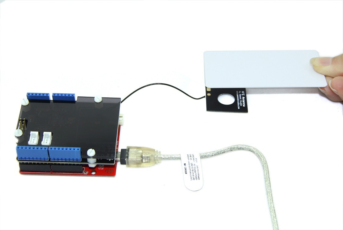 arduino nfc shield ve nfc kart