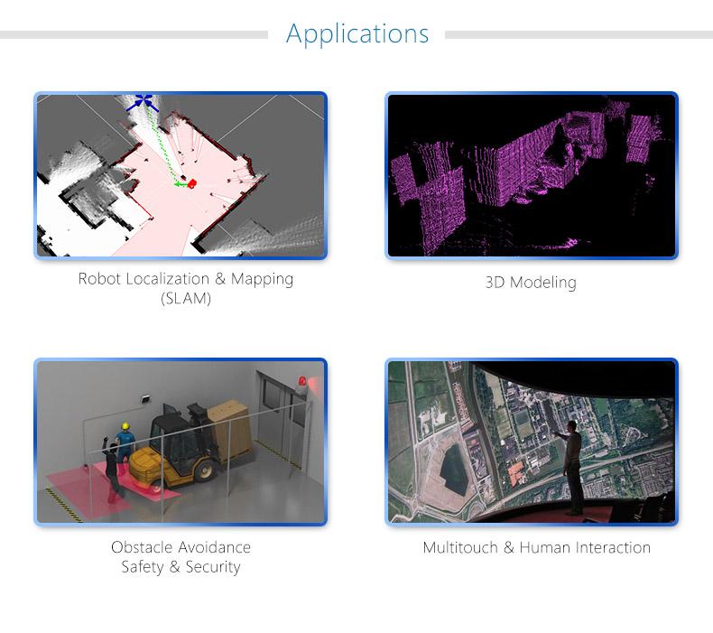 rplidar - 360 derece lazer tarayıcı uygulama alanları