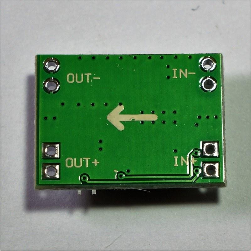 3 a mini ayarlanabilir voltaj düşürücü regülatör kartı - step down pin dizilimi