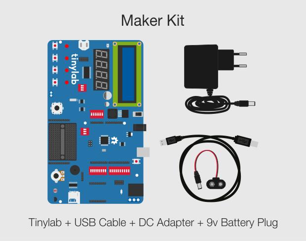 Tinylab Maker Kit İçeriği