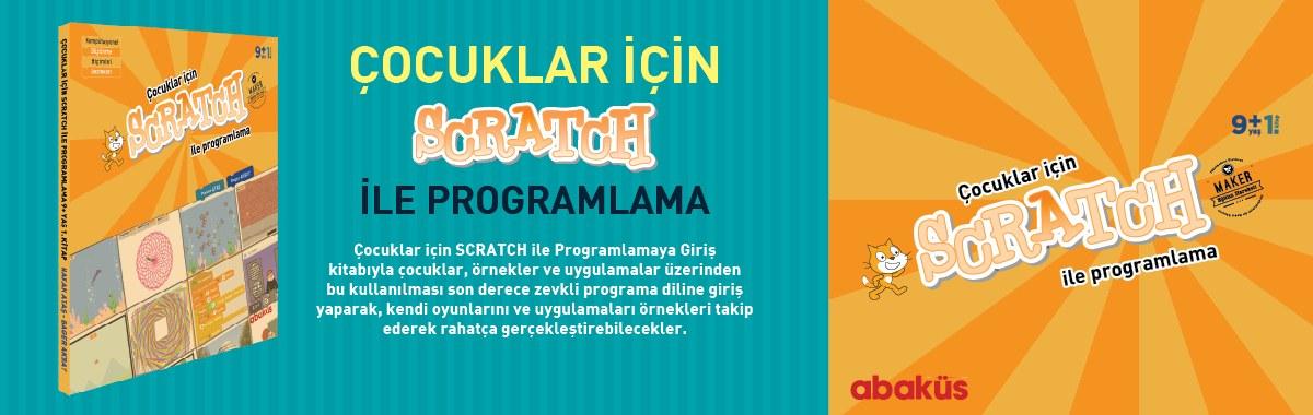 çocuklar için scratch ile kodlama