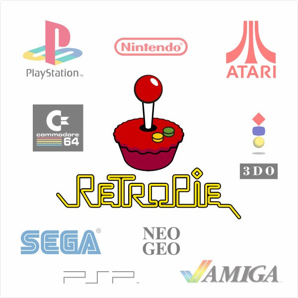 Retro Pie Logosu