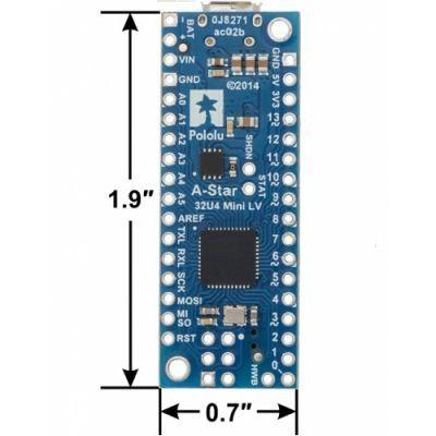 A-Star 32U4 Mini LV Geliştirme Kartı - PL-3103