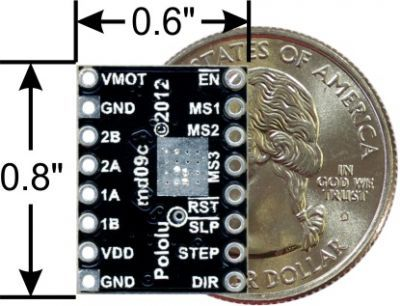 A4988 Step Motor Driver Board (Black PCB)