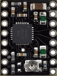 A4988 Step Motor Sürücü Kartı (Siyah PCB) - PL-2128 - Thumbnail