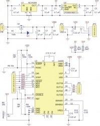 A4988 Voltaj Regülatörlü Step Motor Sürücü Kartı - PL-1183 - Thumbnail