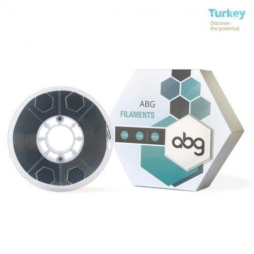 ABG 1.75 mm Black ABS Filament