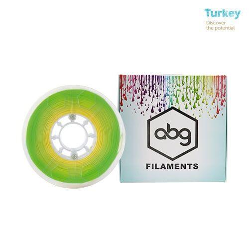 ABG 1.75 mm Çok Renkli ABS 3D Printer Filament