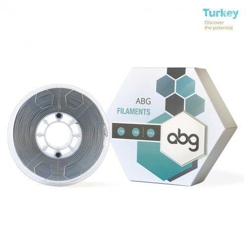 ABG 1.75 mm Gümüş PLA 3D Yazıcı Filament