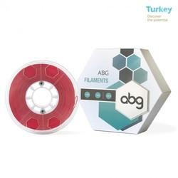 ABG - ABG 1.75 mm Kırmızı ABS 3D Yazıcı Filament