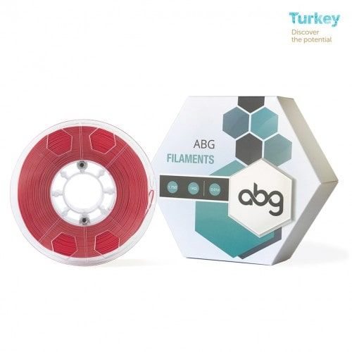 ABG 1.75 mm Red ABS Filament