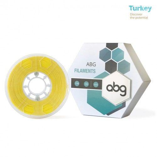 ABG 1.75 mm Sarı ABS 3D Printer Filament