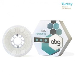 ABG - ABG 1.75 mm White ABS Filament