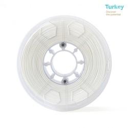 ABG 1.75 mm White PLA Filament - Thumbnail
