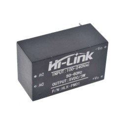 China - AC 220V - DC 5V Converter 3W Power Supply HLK-PM01