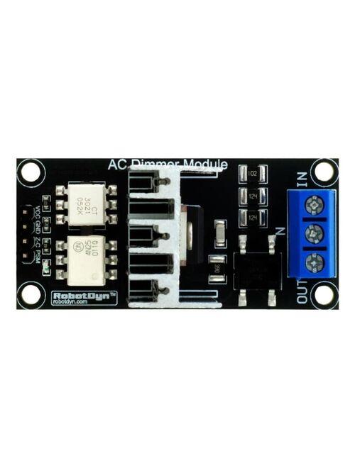 AC Işık Parlaklık Ayarlayıcı Dimmer Modül, 1 Kanal, 3.3V/5V Lojik, 110V/220V