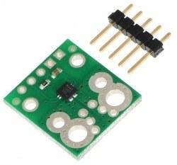 ACS711EX Current Sensor Carrier -15.5A to +15.5A - Thumbnail