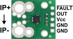 ACS711EX Current Sensor Carrier -31A to +31A - Thumbnail